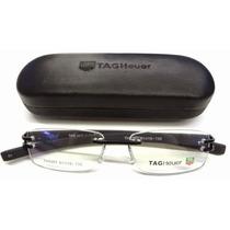 Armação Oculos De Grau Tag Heuer Th 3357 Toda Preta