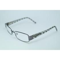 Armação Óculos Feminino Acetato Preto E Transparante Sh811mj