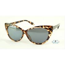 Óculos De Sol Gatinho Cat Eye Vintage Tartaruga