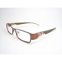 Armação De Óculos Feminino Marrom E Transparente La9045c2 Mj