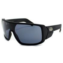 Oculos De Sol Hb Carvin Matte Black Gray Lenses