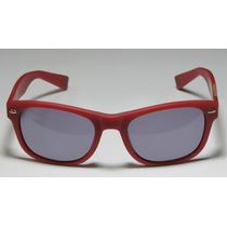 Oculos Sol Wayfarer Vermelho Fosco Marca For All 7 Mankind