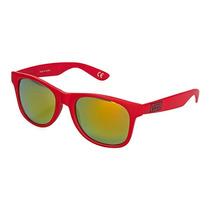 Óculos Vans Spicoli 4 Reinvent Red Mirrored Lens