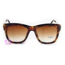 Óculos De Sol Feminino | Dg | Tartaruga | Gatinho | Luxo