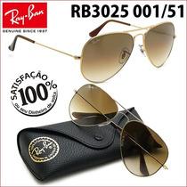 Ray Ban Rb3025 3026 001/51 Aviador Frete Grátis Todo Brasil