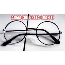 Armação De Óculos Unisex Redondo Estilo Ozzy - John Lennon