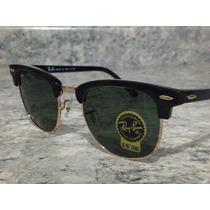 Rayban Clubmaster Rb3016 Brinde Porta Óculos 3026 Frete Free