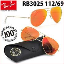 Ray Ban Rb3025 3026 112/69 Aviador Frete Grátis Todo Brasil
