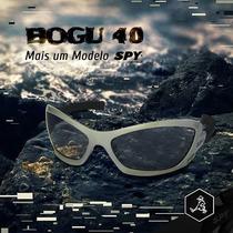 Óculos De Sol Spy - Original - Modelo Bogu 40 - Prata