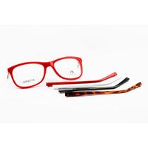 Armação Feminina Para Óculos De Grau Troca Hastes - 6700
