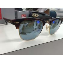 Oculos Ray Ban Rb 3016 Clubmaster 1145/30 51 Original P. Ent
