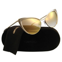Óculos Tom Ford Tf 304 Gold 28g Nastasya 56mm