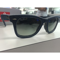 Oculos Ray Ban Rb 2140 116/71 50 Denim Wayfarer Made Italy