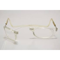 Armação Incolor Oculos Gr+2,25leitura C/ima Magnetico Import