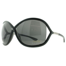 Óculos De Sol Tom Ford Tf9 Whitney 199 Preto
