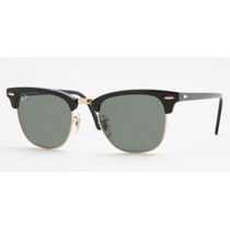 Ray-ban Rb3016 Clubmaster - 100% Original Genuíno Italiano!
