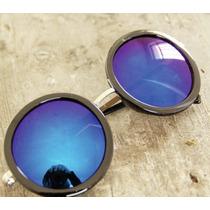 Óculos De Sol - Feminino - Redondo - Importado.