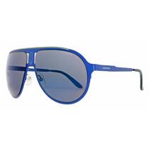 Óculos De Sol Carrera Ca Champion/mt 6vx Azul Fosco