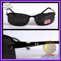 Óculos 3217 Grafite Lentes Escuras Polarizadas