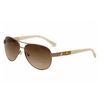 Óculos De Sol Guess 7279 Rogld-34 Aviador Rosa Dourado