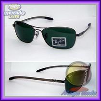 Óculos Tech 8302 Grafite Lentes Escuras