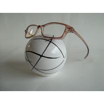 Armação Óculos P/ Grau Masculino Em Acetato Na Cor Marrom
