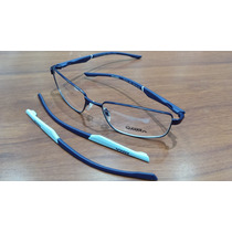 Óculos Grau Atitude Mma Anderson Silva At1410 06d12 X S/juro