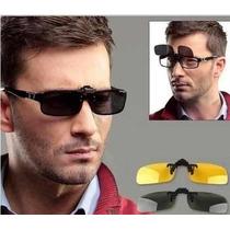 Lentes Para Óculos Clip On Sunglasses Unissex Polarizado