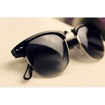 Óculos De Sol Retrô Vintage Estilo Clubmaster