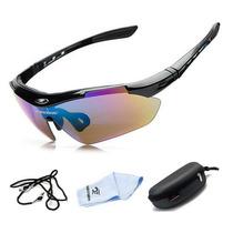 Óculos De Sol Esportivo Bike - Robesbon Original Uv400