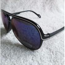 Óculos De Sol Masculino Estilo Tipo Aviador