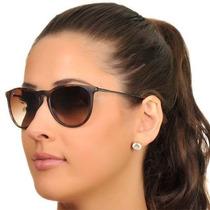 Oculos Erika Marrom 4171 100% Polarizado Feminino Masculino
