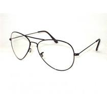 Armação Para Óculos Aviador Retro Vintage Aviator 3025