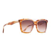 Oculos Evoke Clip On Square Trutle Gold Gold Mirror
