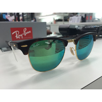 Oculos Ray Ban Rb 3016 Clubmaster 1145/19 51 Original P. Ent
