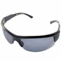 Óculos Mormaii Wave Preto Brilho/ Lente Cinza Polarizada