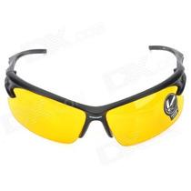 Oculos Esporte Preto Lentes Visão Noturna Sem Grau