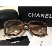 Óculos Chanel Cat Tartaruga - Sunglasses Chanel Original