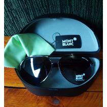 Óculos De Sol Aviador Mascuino Mont Blanc