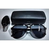 Oculos De Sol Aviador Masculino + Estojo E Porta Oculos