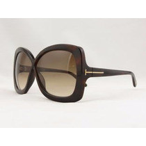 Oculos Tom Ford Jade Tf 0277 52f Marrom Novo Original