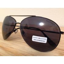 Óculos Aviador Tommy Hilfiger Ñ Ray Ban 100% Original E Novo
