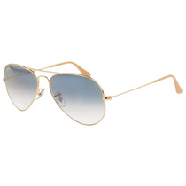 Óculos De Sol Ray Ban Aviador Rb3025 001/3f - 58mm E 62mm
