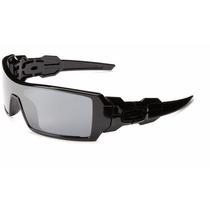 Oculos Oakley Oil Rig Polarizado 26-247 Preto Espelhado