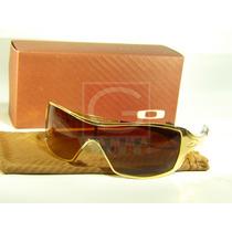 Óculos Oakley Dart Gold E Liv 100%%% Polarizado