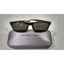 Óculos De Sol Calvin Klein Tortoise
