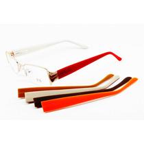 Armação Feminina Para Óculos De Grau Troca Hastes