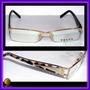 Óculos De Grau Armação Dourado Haste Oncinha Vpr594
