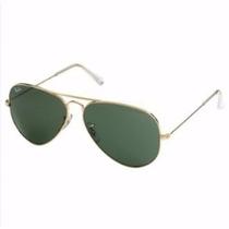 Oculos Ray Ban Aviador 3025 Tamanho 55mm Marrom Original