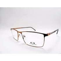 Oculos Oakley Fat Cat Masculino Para Grau + Brinde